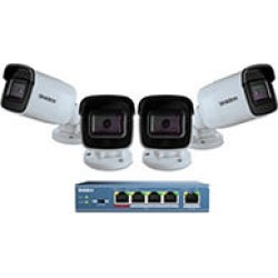 Uniden 4-Camera Cloud Security System,