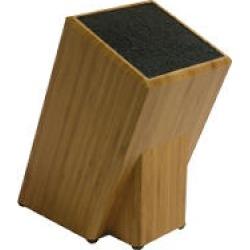 Kapoosh Bamboo Knife Block