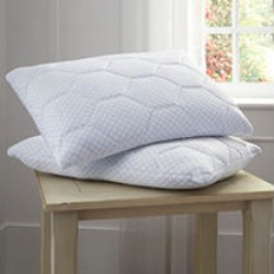 Arctic Sleep™ by Pure Rest™ Cooling Gel Reversible Memory Foam Loft Pillow - King