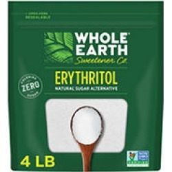 WHOLE EARTH 100% Erythritol Zero Calorie Sweetener (4 lbs.)