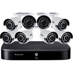Lorex 16 Channel 4K DVR with 2TB HDD and 8 x 4K Cameras with Voice Control Features found on Bargain Bro India from Sam's Club for $599.00