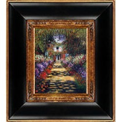 Claude Monet Garden Path at Giverny Hand Painted Oil Reproduction found on Bargain Bro from Sam's Club for USD $106.31