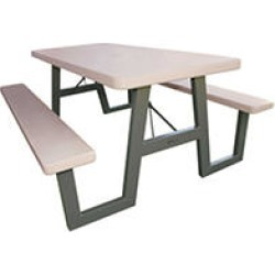 Lifetime 6' W-Frame Folding Picnic Table - Putty found on Bargain Bro India from Sam's Club for $199.98
