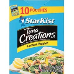 StarKist Tuna Creations, Lemon Pepper (2.6 oz,10 pk.) found on Bargain Bro India from Sam's Club for $9.58