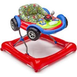 Delta Children Lil' Drive Baby Activity Walker, Red