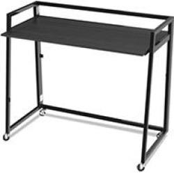 Alera Quick Assemble Computer Workstation, Espresso/Black
