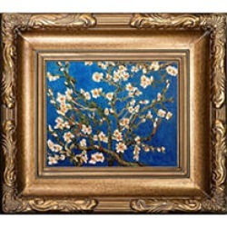 Vincent Van Gogh Branches of an Almond Tree in Blossom Hand Painted Oil Reproduction found on Bargain Bro India from Sam's Club for $139.88