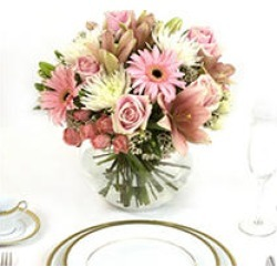 Centerpiece - Pink - 6 pc. found on Bargain Bro Philippines from Sam's Club for $284.98