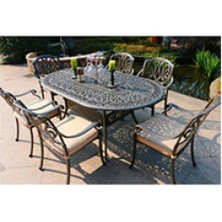 7-Piece Aluminum Patio Dining Set