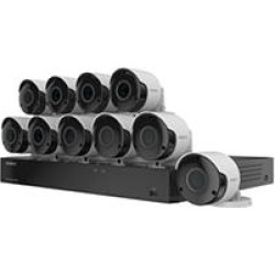 Wisenet 16-Channel 5MP DVR Surveillance System with 2TB Hard Drive, 10-Camera 5MP Indoor/Outdoor Cameras found on Bargain Bro India from Sam's Club for $599.00