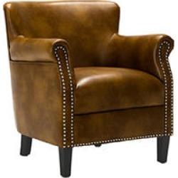 Hallie Club Chair, Camel
