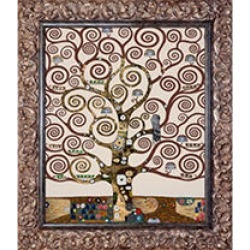 Gustav Klimt The Tree of Life Hand Painted Oil Reproduction found on Bargain Bro India from Sam's Club for $249.88