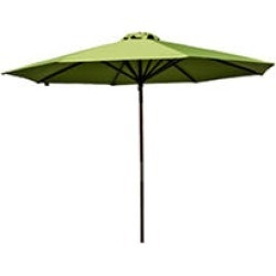 Classic Wood 9 ft Market Umbrella - Lime found on Bargain Bro India from Sam's Club for $56.62