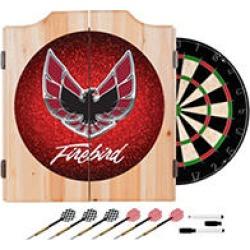 Pontiac Firebird Red Wood Dart Cabinet Set found on Bargain Bro Philippines from Sam's Club for $89.87