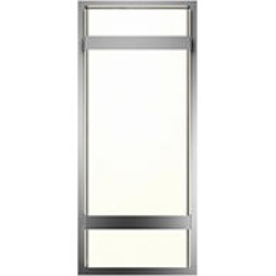 Glowbox Interior/Exterior LED Integrated Wall Light Fixture in Stainless Steel found on Bargain Bro Philippines from Sam's Club for $44.98