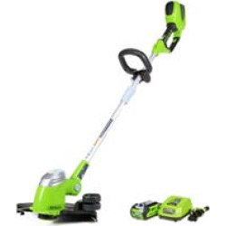 GreenWorks G-MAX 40V 13-Inch Cordless String Trimmer with 2AH Battery and Charger Inc.