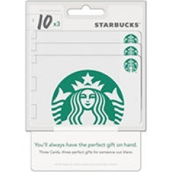 30 Value Gift Cards