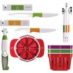 Crisp 6pc Fruit Gadget Bundle