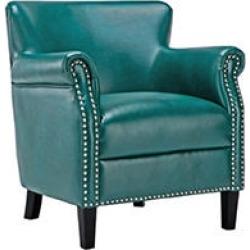 Hallie Club Chair, Teal