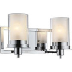 Hardware House Avalon 2 Light Wall Fixture - Chrome found on Bargain Bro India from Sam's Club for $44.98