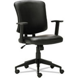 Alera Everyday Task Office Chair, Supports up to 275 lbs, Black Seat/Black Back, Black Base found on Bargain Bro Philippines from Sam's Club for $113.98