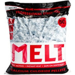 50 lb. MELT Professional Strength Calcium Chloride Pellets Ice Melter - Re-Sealable Bag found on Bargain Bro India from Sam's Club for $21.98