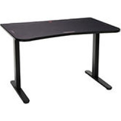 """Respawn 48"""" Gaming Table with Gaming Mouse Pad, Gaming Computer Desk, in Black (RSP-1048-BLK)"""