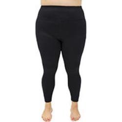 Black 1X Velocity High Rise Capri legging