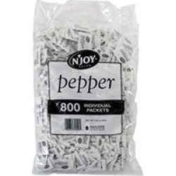 N'Joy Pepper (.1 g, 800 ct.) found on Bargain Bro India from Sam's Club for $2.98