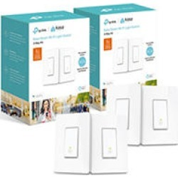 TP-Link HS210 Smart Wi-Fi Light Switches (2 Pack) found on Bargain Bro India from Sam's Club for $89.98