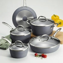 Tramontina 9-Piece Induction-Ready Nonstick Cookware Set
