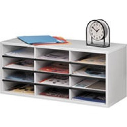 Fellowes Twelve Compartment Literature Organizers