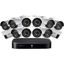 Lorex 16 Channel 1080P Surveillance System with 2TB HDD and 12 x Cameras found on Bargain Bro India from Sam's Club for $399.00