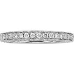 .25 ct. t.w. Vintage Diamond Ring in 14 KARAT WHITE GOLD 5.5 found on Bargain Bro India from Sam's Club for $330.00