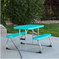 Lifetime Childrens Picnic Table, Aqua, 260219 found on Bargain Bro India from Sam's Club for $49.98