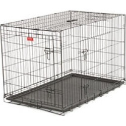"48""L Lucky Dog Training Crate, 2-DR"