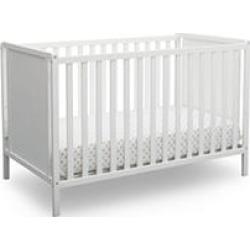 Delta Children Heartland Classic 4-in-1 Convertible Crib, Bianca White
