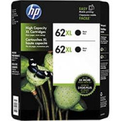 HP 62XL BLK 2 PK INK HP 62XL BLK INK CLUB
