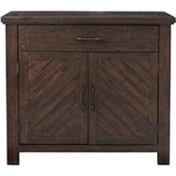 Society Den Paige Accent Chest, Brown