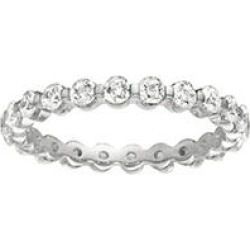Prong-Set Diamond Eternity Band White Gold - 3mm (I, I1) size 8 found on Bargain Bro Philippines from Sam's Club for $1289.00