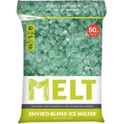 MELT 50 Lb. Resealable Bag Premium Enviro-Blend Ice Melter w/ CMA - MELT50EB found on Bargain Bro Philippines from Sam's Club for $16.98