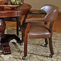 Talley Captains Chair - Brown