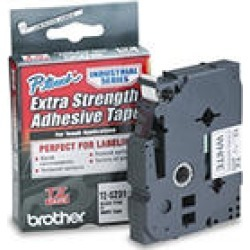 Brother P-Touch - TZeS231 Label Tape, EXTRA-Strength, 1/2