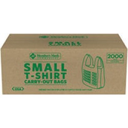 Member's Mark Small T-Shirt Carry-Out Bags (2,000 ct.) found on Bargain Bro India from Sam's Club for $14.98