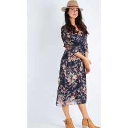 Tapestry Floral Dress found on MODAPINS from Birdsnest for USD $104.12