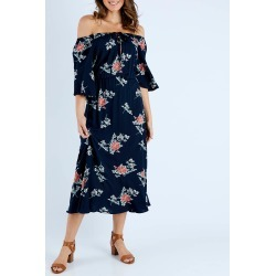 Rayon Maxi Dress found on MODAPINS from Birdsnest for USD $49.66