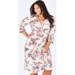 Belle Crepe Wrap Dress found on Bargain Bro Philippines from Birdsnest for $47.97