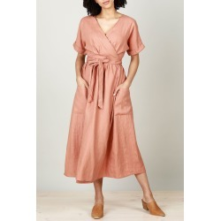 Pansies Wrap Dress found on MODAPINS from Birdsnest for USD $130.74