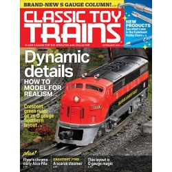 Classic Toy Trains Magazine Subscription, 8 Issues, Dolls, Toys & Games magazines.com found on Bargain Bro India from Magazines for $39.95