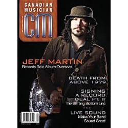 Canadian Music Magazine Subscription, 6 Issues, Instruments & Performers magazines.com